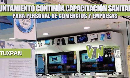 AYUNTAMIENTO CONTINÚA CAPACITACIÓN SANITARIA PARA PERSONAL DE COMERCIOS Y EMPRESAS