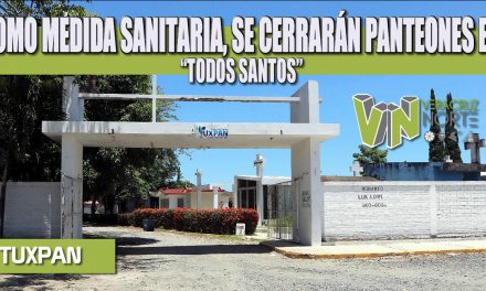 """COMO MEDIDA SANITARIA, SE CERRARÁN PANTEONES EN """"TODOS SANTOS"""""""