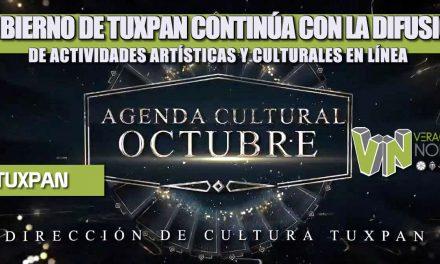 GOBIERNO DE TUXPAN CONTINÚA CON LA DIFUSIÓN DE ACTIVIDADES ARTÍSTICAS Y CULTURALES EN LÍNEA