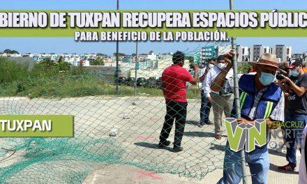 GOBIERNO DE TUXPAN RECUPERA ESPACIOS PÚBLICOS PARA BENEFICIO DE LA POBLACIÓN.