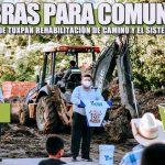 MÁS OBRAS PARA COMUNIDADES, ARRANCA GOBIERNO DE TUXPAN REHABILITACIÓN DE CAMINO Y EL SISTEMA DE AGUA POTABLE.