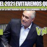 EN JULIO DEL 2021 EVITAREMOS QUE MÉXICO SE CONVIERTA EN LA DICTADURA DE UN SOLO HOMBRE: JULEN REMENTERÍA