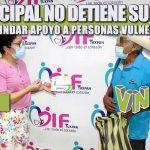 DIF MUNICIPAL NO DETIENE SU TRABAJO PARA BRINDAR APOYO A PERSONAS VULNERABLES