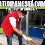 EL PRI EN TUXPAN ESTÁ CAMINANDO Y LA CNOP LO ENCABEZA.