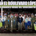 INAUGURAN EL BOULEVARD LÓPEZ MATEOS, UNA DE LAS GRANDES OBRAS DEL GOBIERNO DEL CAMBIO