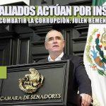 MORENA Y ALIADOS ACTÚAN POR INSTRUCCIÓN, NO POR COMBATIR LA CORRUPCIÓN: JULEN REMENTERÍA