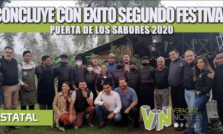 CONCLUYE CON ÉXITO SEGUNDO FESTIVAL PUERTA DE LOS SABORES 2020