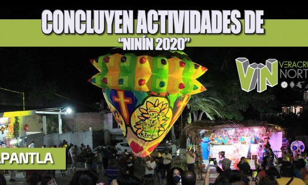"""CONCLUYEN ACTIVIDADES DE """"NINÍN 2020"""""""