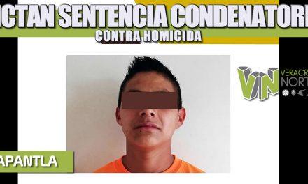 DICTAN SENTENCIA CONDENATORIA CONTRA HOMICIDA