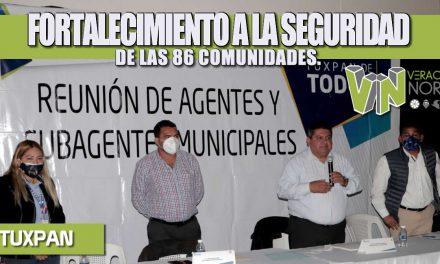 FORTALECIMIENTO A LA SEGURIDAD DE LAS 86 COMUNIDADES.
