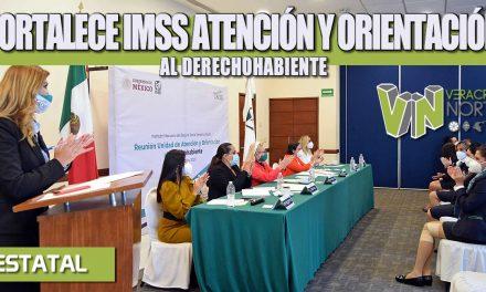 FORTALECE IMSS ATENCIÓN Y ORIENTACIÓN AL DERECHOHABIENTE