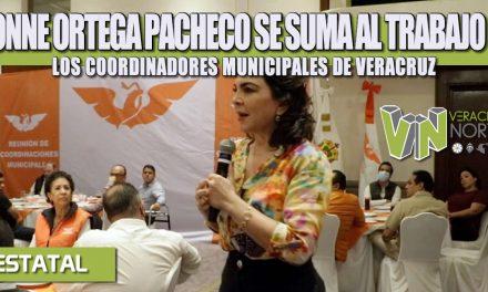 IVONNE ORTEGA PACHECO VISITA VERACRUZ; SE SUMA AL TRABAJO DE LOS COORDINADORES MUNICIPALES DE VERACRUZ
