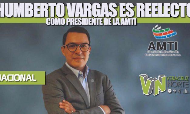 Humberto Vargas es reelecto como presidente de la Asociación Mexicana del Transporte Intermodal (AMTI)