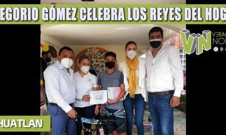 GREGORIO GÓMEZ CELEBRA LOS REYES DEL HOGAR