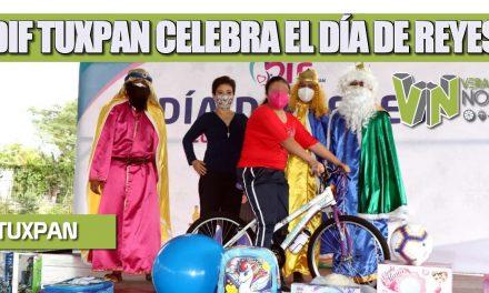 DIF TUXPAN CELEBRA EL DÍA DE REYES