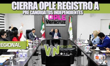 Cierra OPLE registros a pre-candidatos independientes