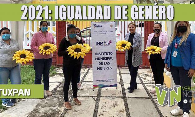 2021 SERÁ UN AÑO PARA FORTALECER LA IGUALDAD DE GÉNERO Y PROTEGER LOS DERECHOS DE LAS MUJERES: TOÑO AGUILAR.