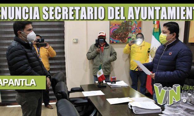 RENUNCIA SECRETARIO DEL AYUNTAMIENTO