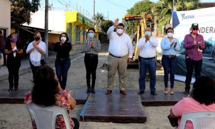 ARRANCA GOBIERNO MUNICIPAL PAVIMENTACIÓN DE LA CALLE HÉROES DEL 47. ¡HECHOS, NO PALABRAS!