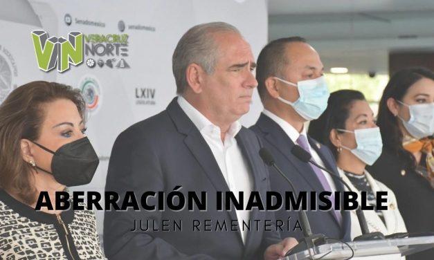 Aberración inadmisible, abrir la puerta para que la SCJN valide alargar mandato de su presidente: Julen Rementería