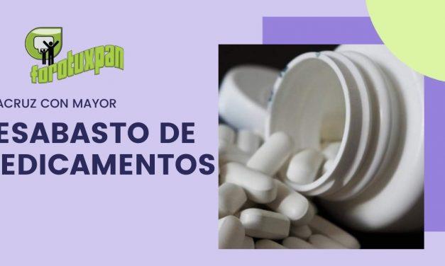 Organización ubica a Veracruz dentro de las entidades con mayor desabasto de medicamentos