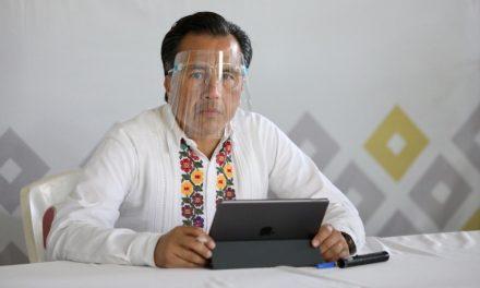 NIEGA CUITLÁHUAC PERSECUCIÓN POLÍTICA EN VERACRUZ, DESCARTA 'SUBIR AL RING'