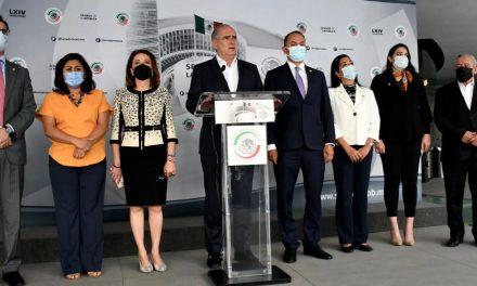 NOMBRA MARKO CORTÉS A JULEN REMENTERÍA COMO COORDINADOR DE LOS SENADORES DEL PAN