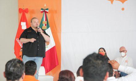 RINDEN PROTESTA CANDIDATAS Y CANDIDATOS DE MOVIMIENTO CIUDADANO