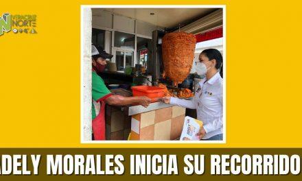 ADELY MORALES INICIA SU RECORRIDO