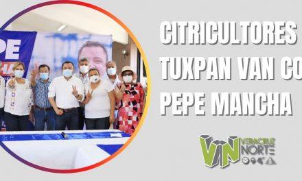 CITRICULTORES DE TUXPAN VAN CON PEPE MANCHA