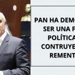 PAN HA DEMOSTRADO SER UNA FUERZA POLÍTICA QUE CONSTRUYE: JULEN REMENTERÍA