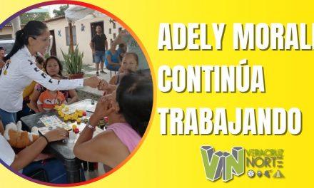 ADELY MORALES CONTINÚA TRABAJANDO