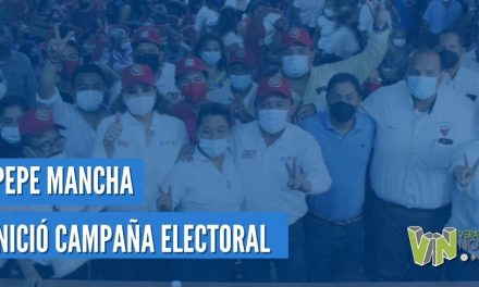 PEPE MANCHA, INICIÓ CAMPAÑA ELECTORAL