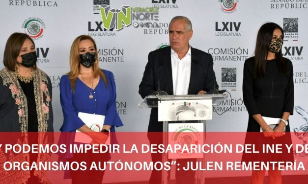 """""""HOY PODEMOS IMPEDIR LA DESAPARICIÓN DEL INE Y DE LOS ORGANISMOS AUTÓNOMOS"""": JULEN REMENTERÍA"""