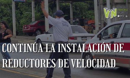 CONTINÚA LA INSTALACIÓN DE REDUCTORES DE VELOCIDAD