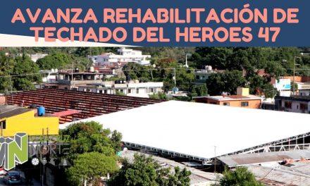 AVANZA REHABILITACIÓN DE TECHADO DEL HEROES 47