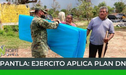PAPANTLA: EJERCITO APLICA PLAN DN-III-E