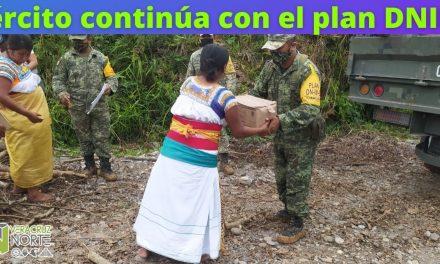Ejército continúa con el plan DNIII-E