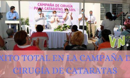 ÉXITO TOTAL EN LA CAMPAÑA DE CIRUGÍA DE CATARATAS