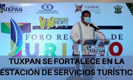 TUXPAN SE FORTALECE EN LA PRESTACIÓN DE SERVICIOS TURÍSTICOS