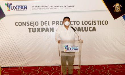 TOÑO AGUILAR DETONA CRECIMIENTO E INVERSIÓN PARA TUXPAN
