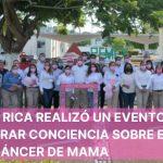 CPG POZA RICA REALIZÓ UN EVENTO PARA GENERAR CONCIENCIA SOBRE EL CÁNCER DE MAMA