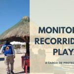 MONITOREO Y RECORRIDOS EN PLAYA A CARGO DE PROTECCIÓN CIVIL