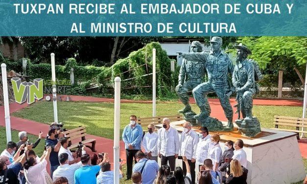 TUXPAN RECIBE AL EMBAJADOR DE CUBA Y AL MINISTRO DE CULTURA
